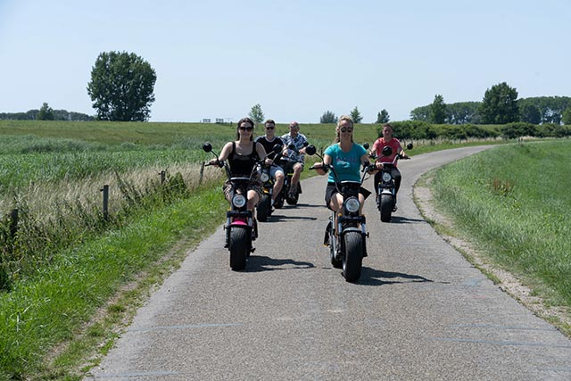 teamdag door de polder